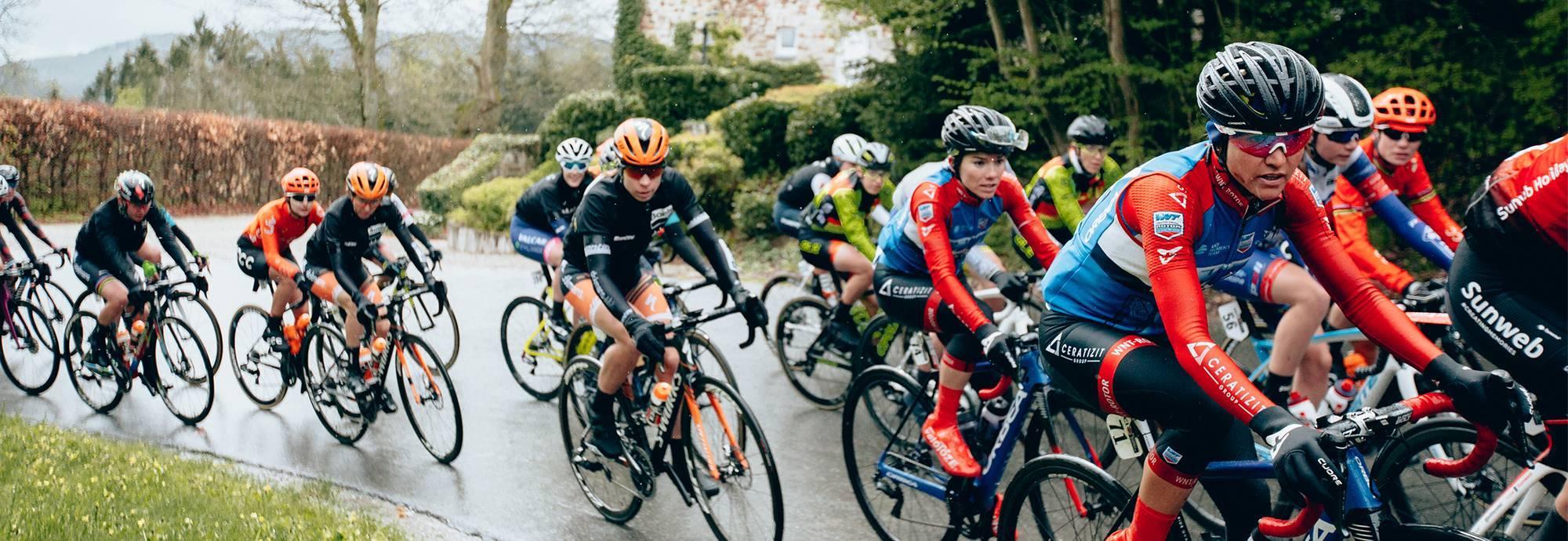 Header: CERATIZIT - WNT PRO CYCLING TEAM