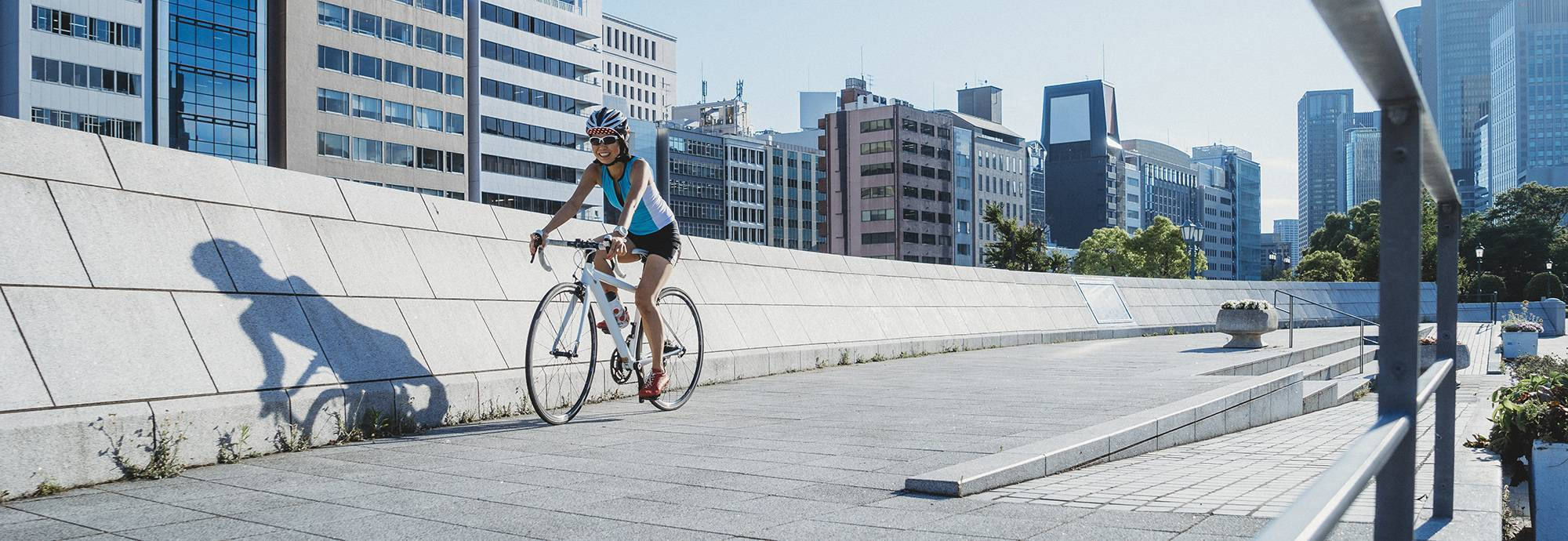 Header: Le vélo et la ville
