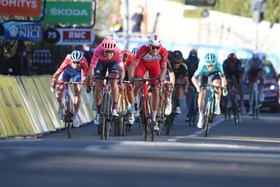 14/03/2021 - Paris Nice 2021 - Etape 8 - Le Plan-du-Var / Levens (92,7 km) - Arrivée au sprint