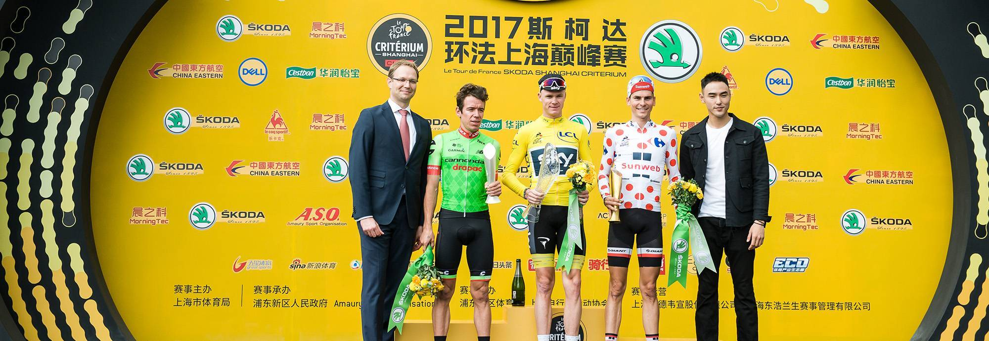 Header: The history of Shanghai Critérium