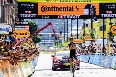 11/07/2021 – Tour de France 2021 – Etape 15 – Céret / Andorre-La-Vieille (191,3 km) - Sepp Kuss (JUMBO - VISMA)
