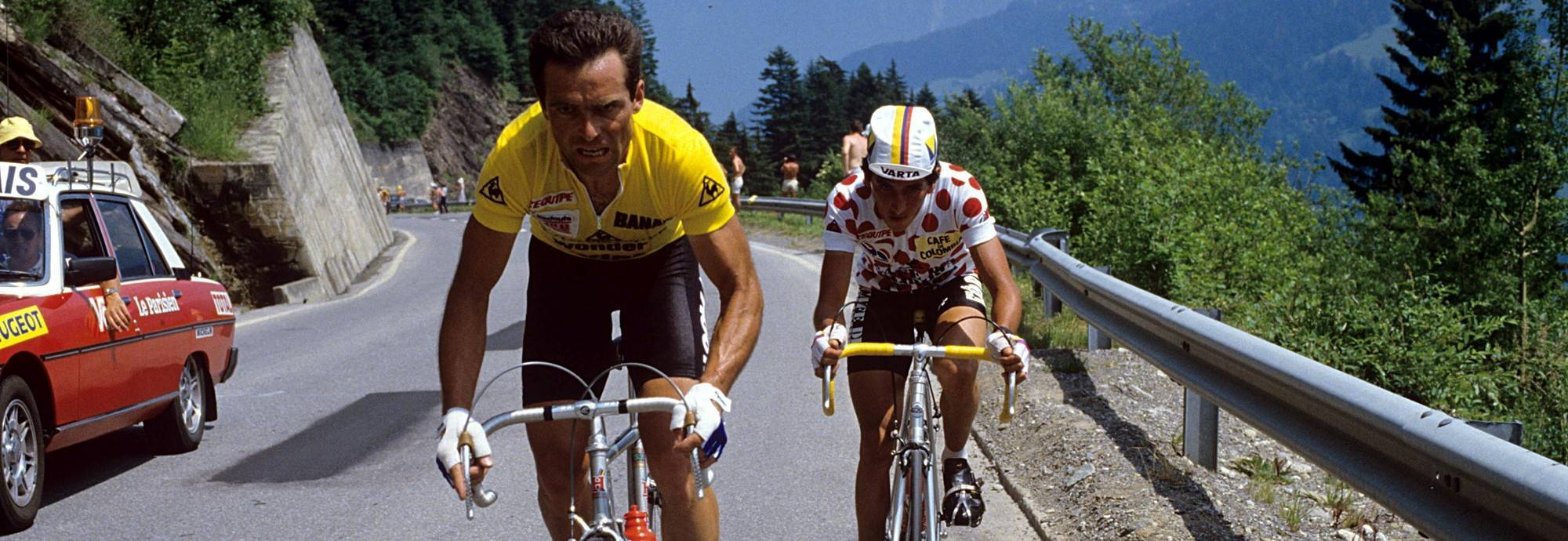 Header: The history of the Tour de France