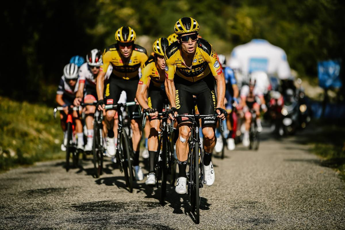 13/09/2020 - Tour de France 2020 - Etape 15 - Lyon / Grand Colombier (174,5 km) - wout VAN AERT (TEAM JUMBO - VISMA)
