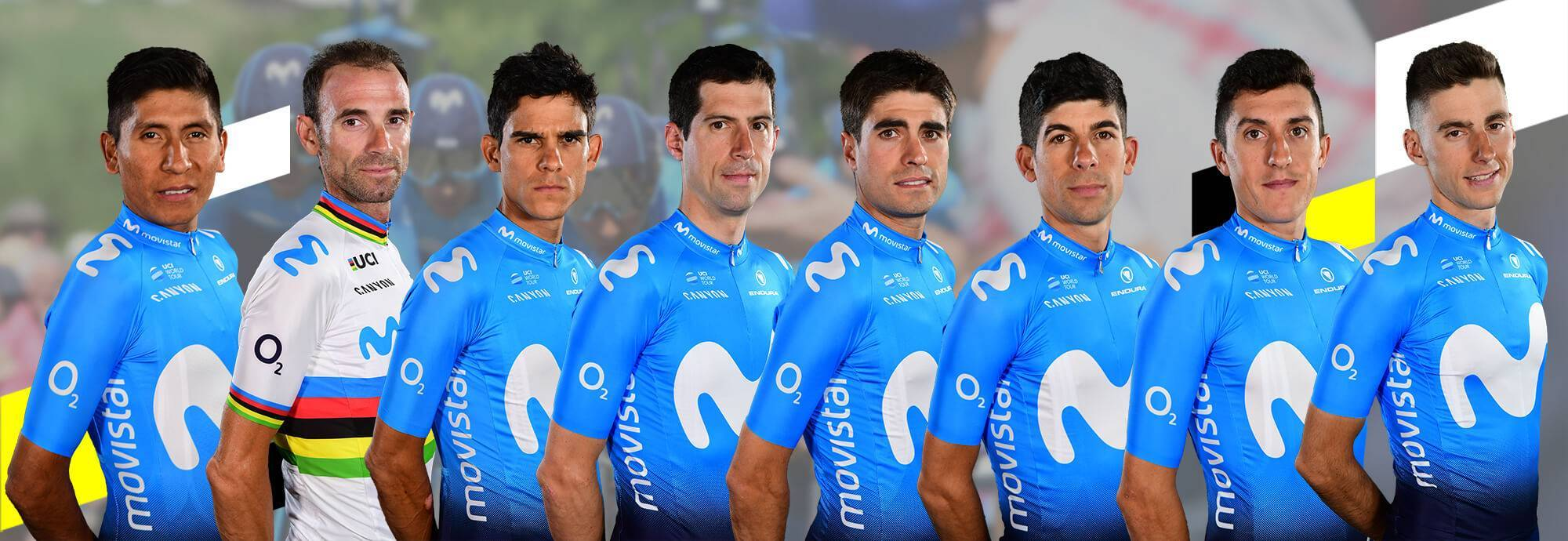 Header: MOVISTAR TEAM