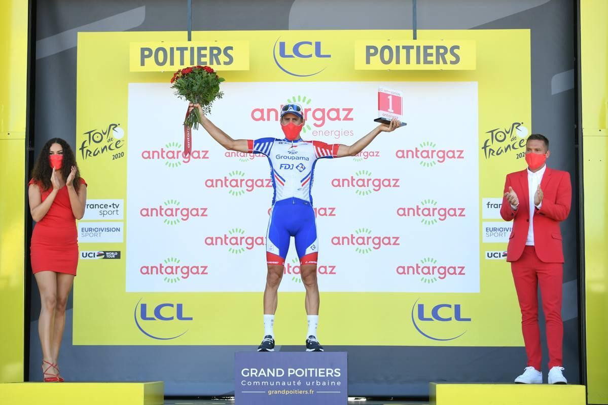09/09/2020 - Tour de France 2020 - Etape 11 - Châtelaillon-Plage / Poitiers (167,5 km) - Matthieu LADAGNOUS (GROUPAMA - FDJ) - Combatif du jour