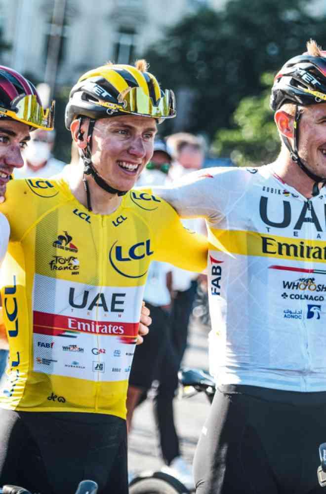 """Tadej Pogacar (UAE Team Emirates): """"Este año no voy a llorar"""" image"""