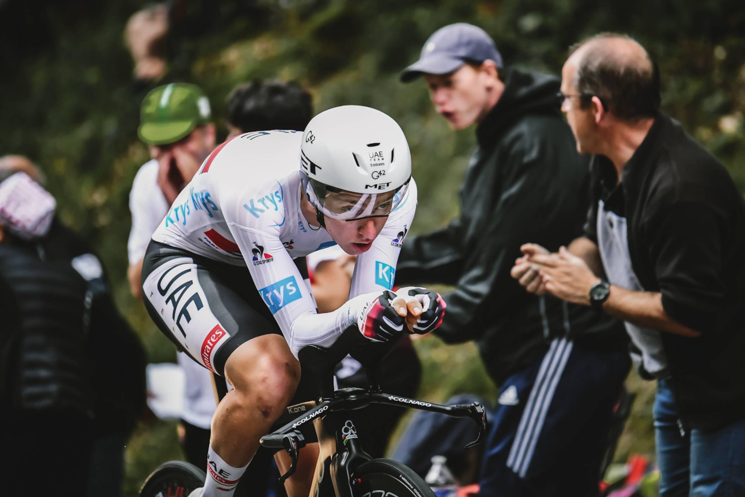 30/06/2021 – Tour de France 2021 – Etape 5 – Changé / Laval (CLM - 27,2 km) - Tadej Pogacar (UAE TEAM EMIRATES)