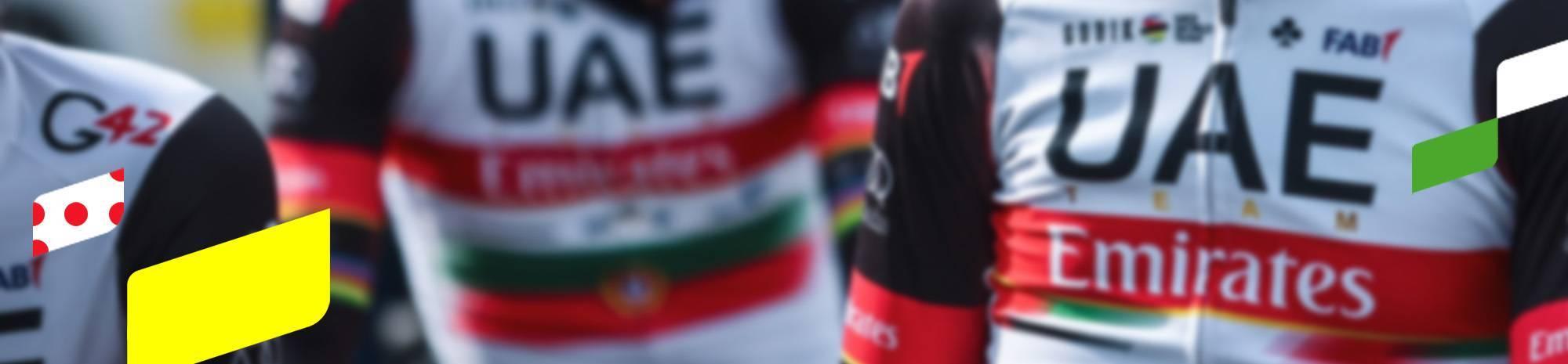 Header: UAE TEAM EMIRATES