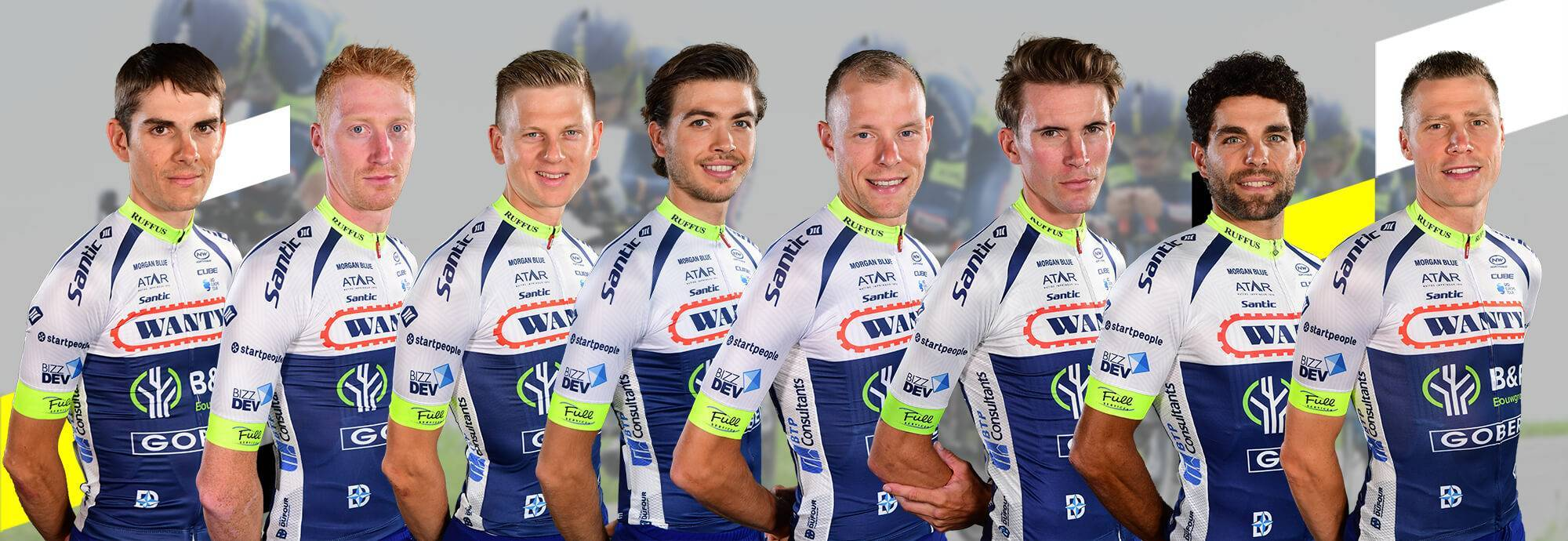 Header: WANTY - GOBERT CYCLING TEAM