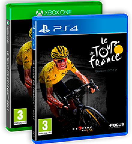 The Official Video Games Of Le Tour De France