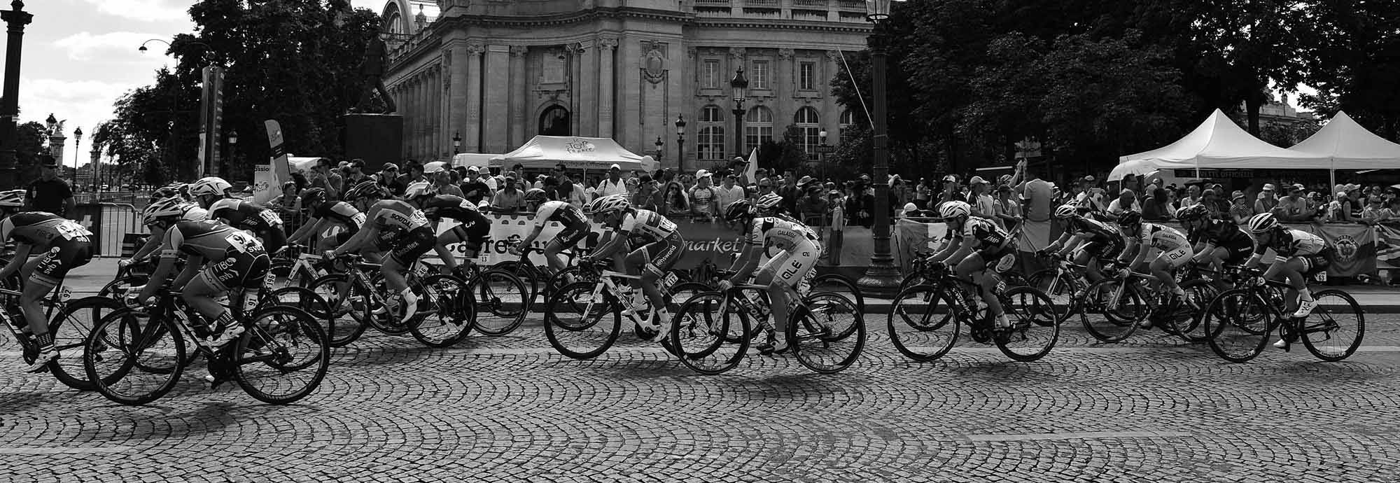 Header: History Of La Course By Le Tour with FDJ