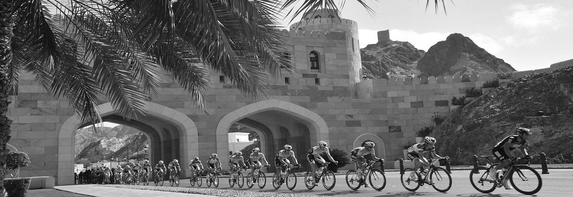 Header: The history of the Tour of Oman