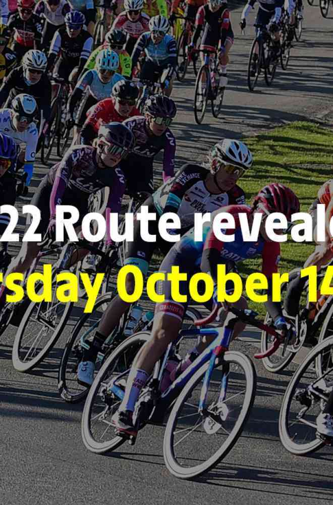Save the date - Presentation of the 2022 route image