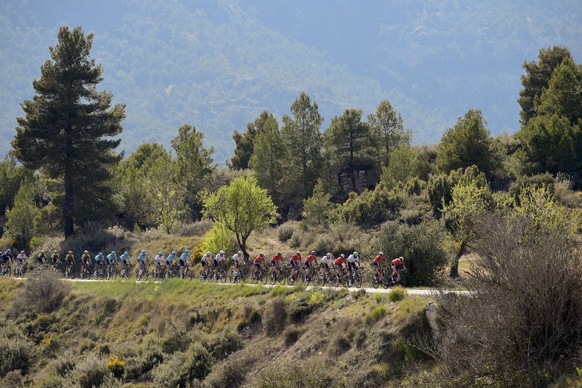 Sexta etapa de la Volta de Catalunya disputada entre Valls y Vila-seca  ganada por el ciclista Australiano Michael Mattews