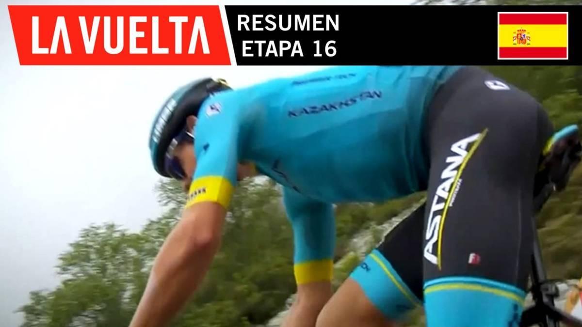 Resumen - Etapa 16 | La Vuelta 19