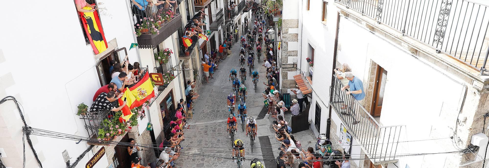 Header: La Vuelta