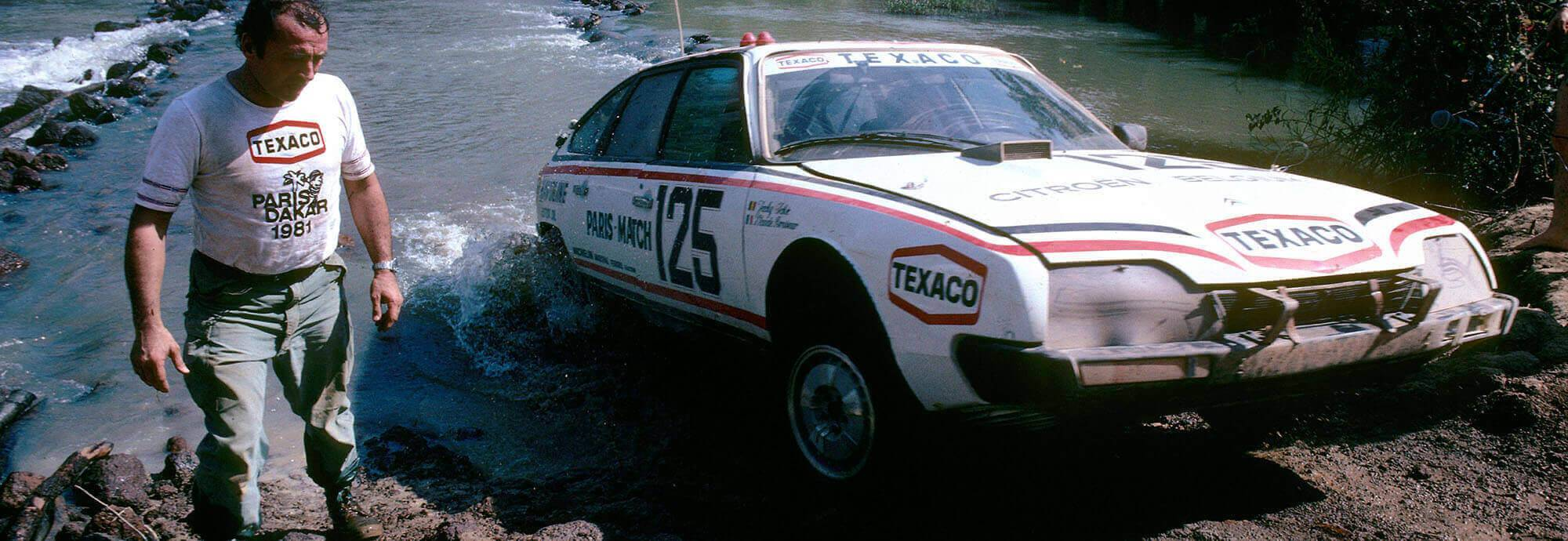 Header: The Dakar's history