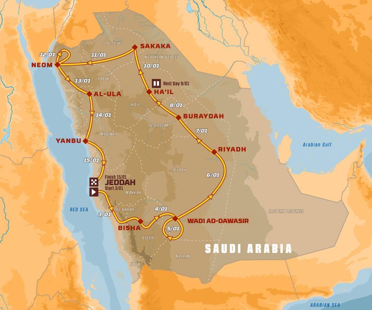 2021 43º Rallye Raid Dakar - Arabia Saudí [3-15 Enero] A79ba