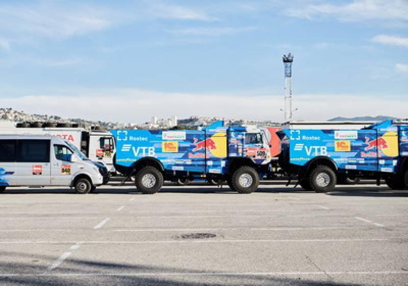 02/12/2020 - Dakar 2021 - Boarding at Marseille