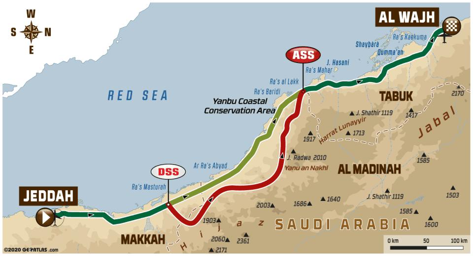2020 42º Rallye Raid Dakar - Arabia Saudí [5-17 Enero] - Página 3 7eaba