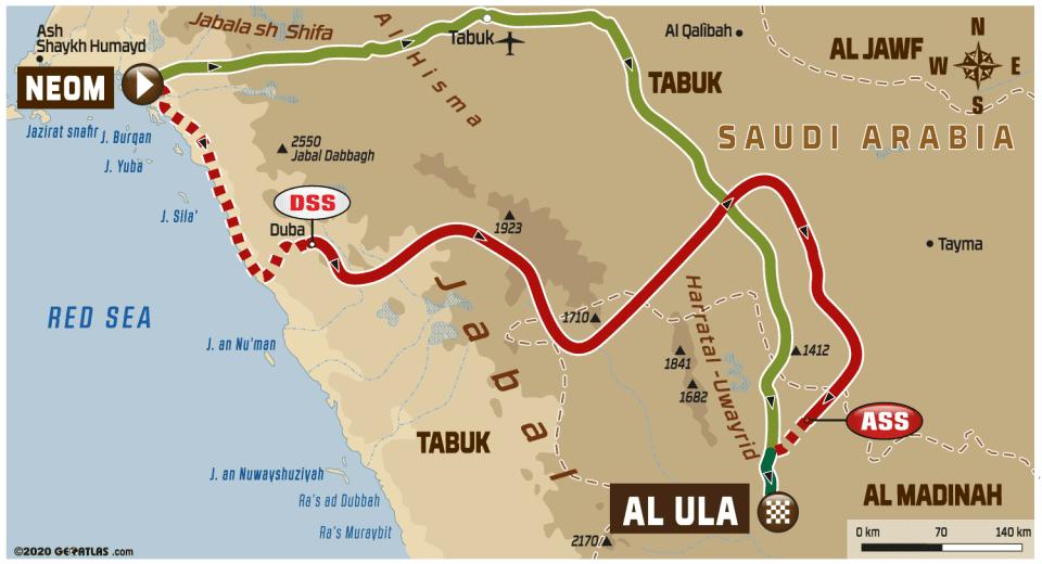 Dakar2020 - 2020 42º Rallye Raid Dakar - Arabia Saudí [5-17 Enero] - Página 7 De860